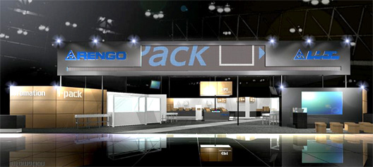 Rengo's Exhibition Booth