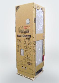 エコキュート(貯湯タンク)の包装