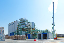 Biomass incineration facility